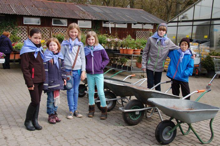 Die Heinzelkinder Wörmer Gartenfrühling