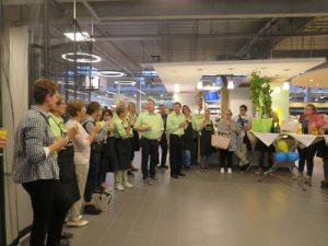 Eröffnungsfeier des Edeka Frischemarktes Schreiber in Sprötze